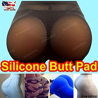 Silicone Buttocks Pads Butt Enhancer body Shaper Panty Tummy Control GD