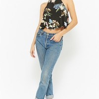 Floral Print Strappy Cami