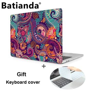 Printed Hard Case for Apple MacBook pro 13 15 2016 Case New with Touch Bar A1706 A1707 /non Touch Bar A1708 Laptop Hard Cover