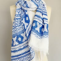 Royal Aztec Scarf