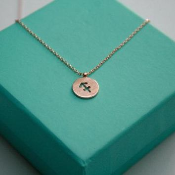 Sagittarius Necklace Signs Zodiac Necklace