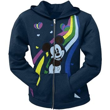 Mickey Mouse - Rainbow Youth Hoodie