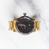 Nixon The Diplomat SS - Black/Gold