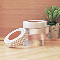 Simple Check Fabric Tape