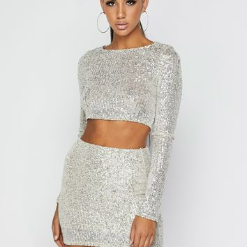 Aphrodite Sparkle Sequin Set