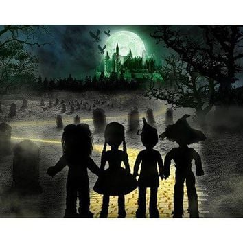 """Living Dead Dolls Lost In Oz Walpurgis as The Witch 10"""" Doll"""