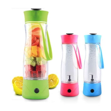 Portable Multi-functioned Portable Charger Cup Juiceglass [6283230470]