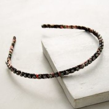 Sibylla Headband by Anthropologie in Black Motif Size: One Size Hair