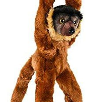 "Wildlife Tree 18"" Hanging Stuffed Collared Lemur Plush Primate Heirloom Monkey Collection"