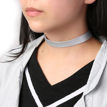 1PC Pure Colour Gothic Vintage Punk Women Lady Girl Leather Choker Collar Necklace Statement Jewelry