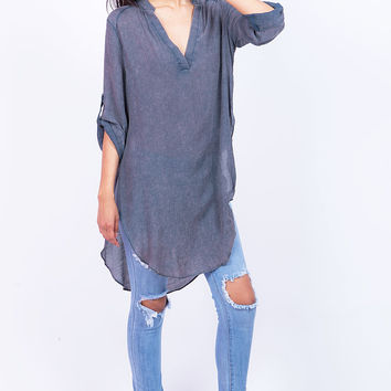 Crinkle+Pressed+Tunic+
