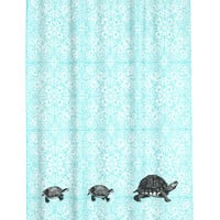 H&M - Shower Curtain - Turquoise