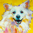 Art Print of Original Painting · Digital Download · Who said WOOF?! · Dog - Contemporary Art · Large Wall Art