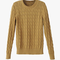 Cable Knit Soft Sweater