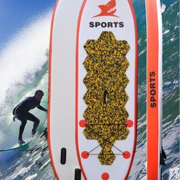Water inflatable Surfboard Practice Paddle board standing type Inflatable skateboard