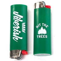 Jiberish x BIC 'Hit the Trees' Lighter Fall 2013 at Jiberish