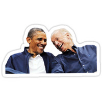 'obama biden bff' Sticker by dancingmandy96