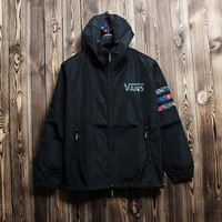 Day-First™ Cozy Men VANS Jacket Windbreaker