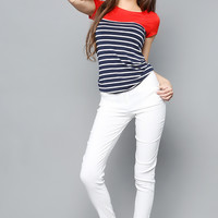 Colorful Stripe Tee