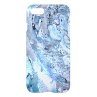 blue abalone shell iPhone 7 case