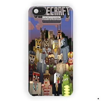 Minecraft Battle Beast Skins Xbox 360 For iPhone 5 / 5S / 5C Case