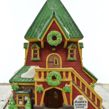 Department 56 North Pole Series Santas Rooming House