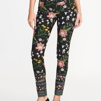 Mid-Rise Pixie Long Pants for Women | Old Navy