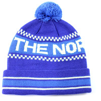 The North Face Ski Tuke IV Pom Tech Unisex Adult Blue Beanie Hat