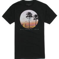 California Love Life I Live T-Shirt - Mens Tee - Black