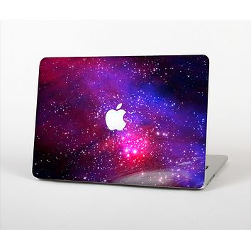 The Vivid Pink Galaxy Lights Skin Set for the Apple MacBook Air 11""