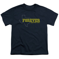 Friday Night Lights Texas Forever Navy Youth T-Shirt