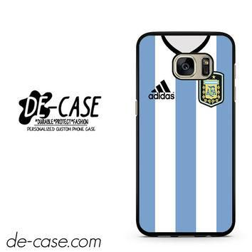 Argentina Soccer Jersey DEAL-847 Samsung Phonecase Cover For Samsung Galaxy S7 / S7 Ed