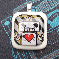 Paranoid Android Pendant on Luulla