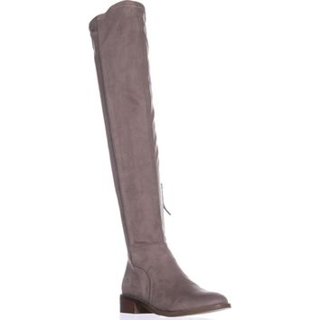 Franco Sarto Bailey Over-The-Knee Fashion Boots, Grey Str, 7.5 US / 37.5 EU