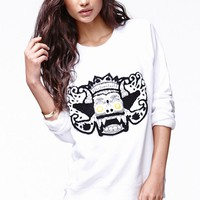 This is a love song ASAP Sweatshirt - Womens Hoodie - White