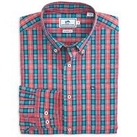 Wentworth Plaid Sport Shirt in Sunset by Southern Tide