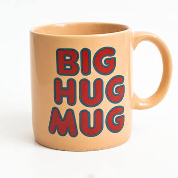 Vintage Big Hug Mug, Seen on HBO True Detective, Matthew McConaughey, FTD Original