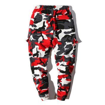 Winter Sports Hot Sale Camouflage Gym Women Men Fashion Pants