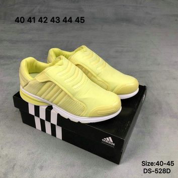(2 Colors) Adidas 170216 FOREST HILLS 72 Men Women Fashion Casual Breathe Sports Running Shoes Yellow/Red