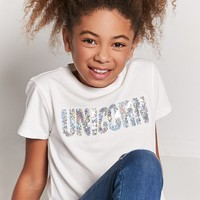 Girls Unicorn Graphic Tee (Kids)