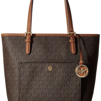 MICHAEL Michael Kors Jet Set Travel Medium Logo Tote