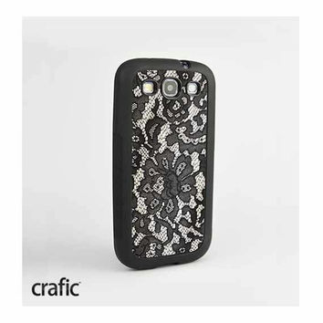 Black Lace Samsung Galaxy S3 Case
