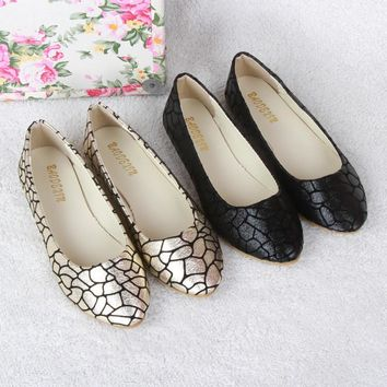 new summer style women slip on flats shoe leather fabric casual lady loafers ballerina female fashion moccasins size 41
