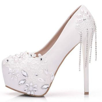 Raley Lace Heels