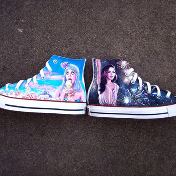 Katy Perry Shoes by PattyCakesKicks on Etsy