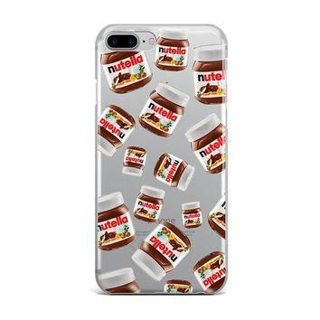 NUTELLA ALL OVER CUSTOM IPHONE CASE