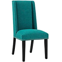 Baron Fabric Dining Chair, Teal