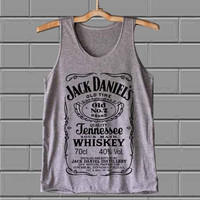 jack daniels customized design for Tank top mens and Tank top girls @best seller