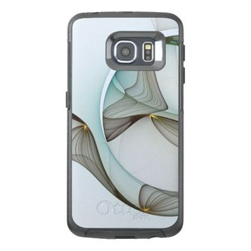 Fractal Abstract Elegance OtterBox Samsung Galaxy S6 Edge Case