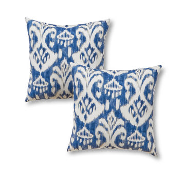 "Coastal Collection 17"" Outdoor Accent Pillow - SET OF 2"